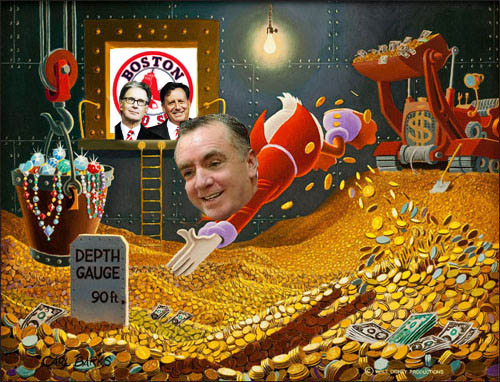 Ian Ayre Swimming In Pool Of Money